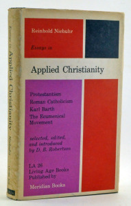 Niebuhr, Reinhold - Essays in Applied Christianity