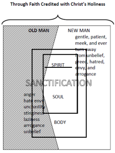 The renovation God effects in us makes a difference in the world as well. See the paper with this diagram here.