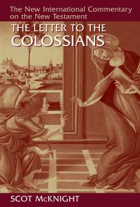 Scot McKnight, Colossians, Commentary