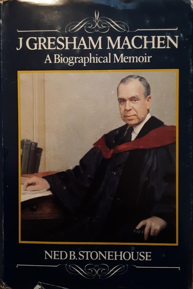 Machen bio book cover